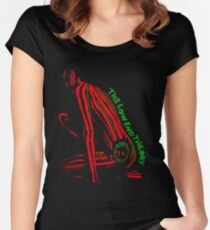 Tribe Called Quest - The Low End Theory Women's Fitted Scoop T-Shirt