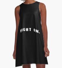 Fight On Pixels - Motivation A-Line Dress