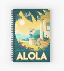 welcome to alola Spiral Notebook