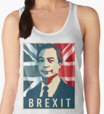 Nigel Farage Brexit Women's Tank Top