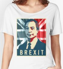 Nigel Farage Brexit Women's Relaxed Fit T-Shirt