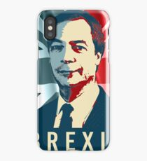 Nigel Farage Brexit iPhone Case