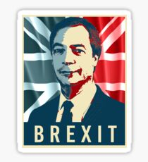 Nigel Farage Brexit Sticker