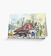 33 Maling Rd  Canterbury Greeting Card