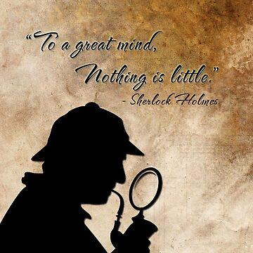 Sherlock Holmes by sebastiennicolo