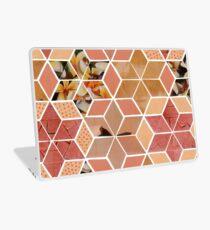 Apricot Tiling Laptop Skin
