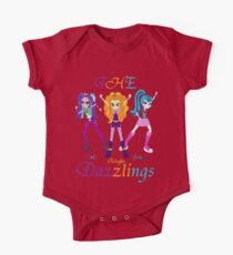 The Dazzlings equestria girls One Piece - Short Sleeve