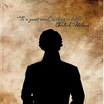 Sherlock Holmes Benedict Cumberbatch version by sebastiennicolo