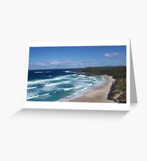 a beech day Greeting Card