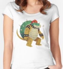 so long ke bowser Women's Fitted Scoop T-Shirt