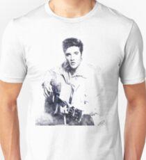 Elvis presley portrait 01 Unisex T-Shirt