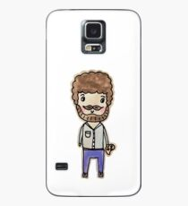 bob ross watercolor doodle Case/Skin for Samsung Galaxy