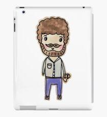 bob ross watercolor doodle iPad Case/Skin