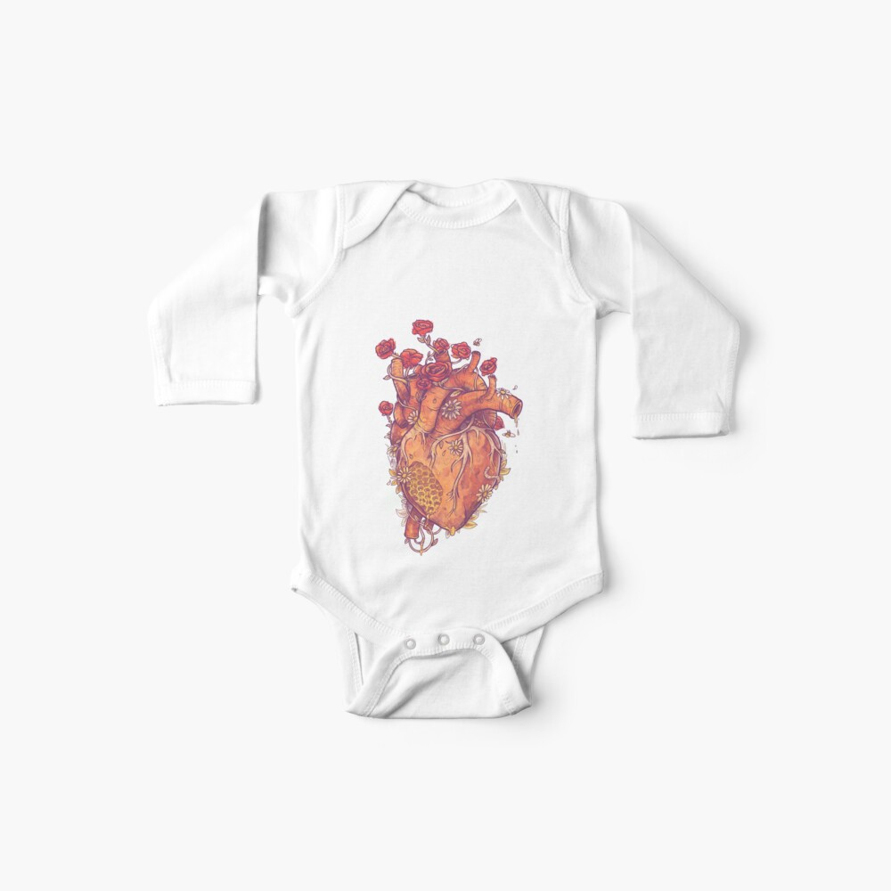 Dulce corazón Bodies para bebé