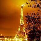 Paris at night by Anton Alberts