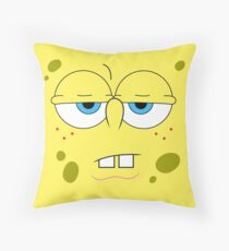 Sponge Face ! [UltraHD] Throw Pillow