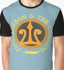 Camiseta gráfica Logotipo de Percy Jackson