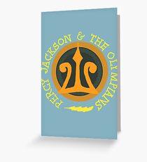 Percy Jackson Logo Greeting Card