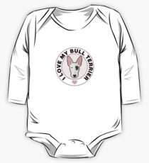 Love My Bull Terrier One Piece - Long Sleeve