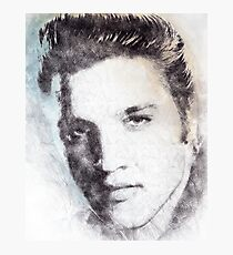 Elvis presley portrait 02 Photographic Print