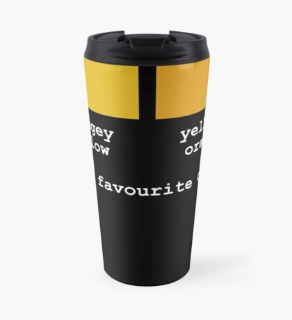 My Two Favourite Colours Travel Mug