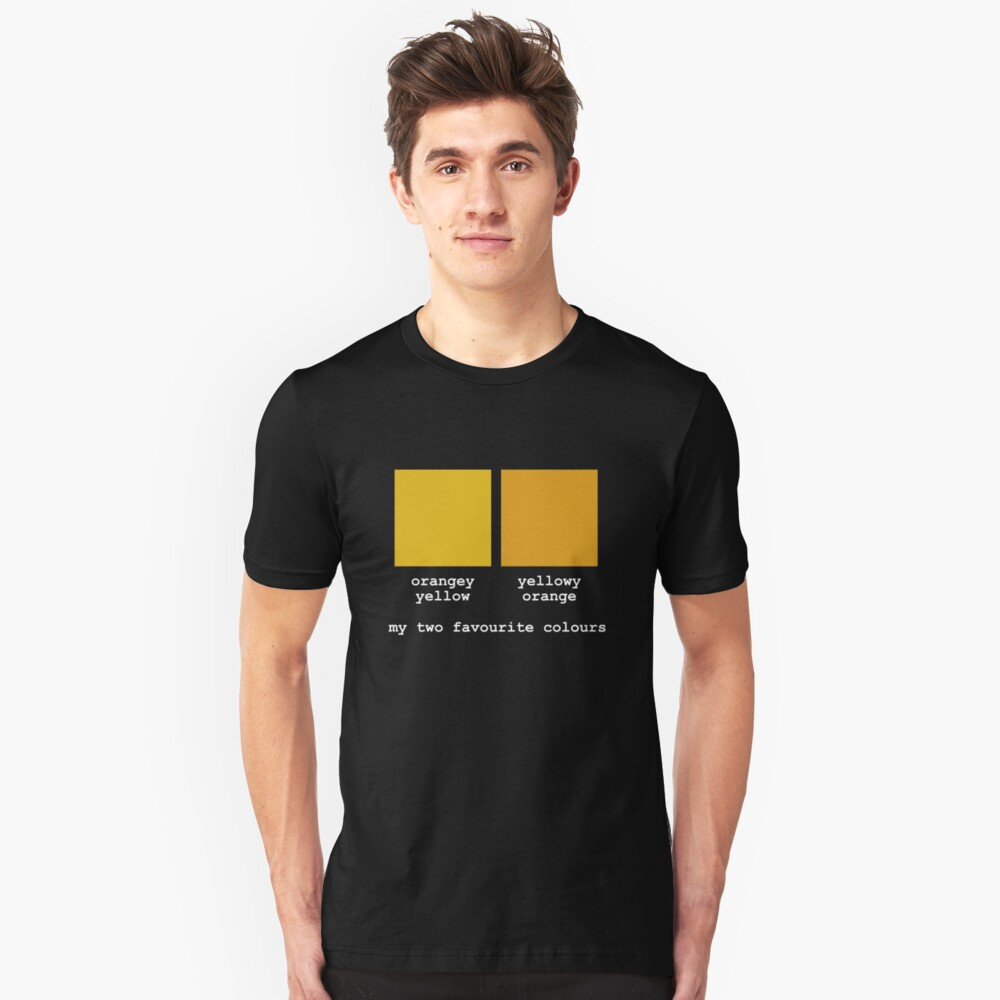 My Two Favourite Colours Slim Fit T-Shirt