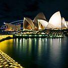 «El otro lado - Sydney Opera House - Vivid Sydney» de Bryan Freeman
