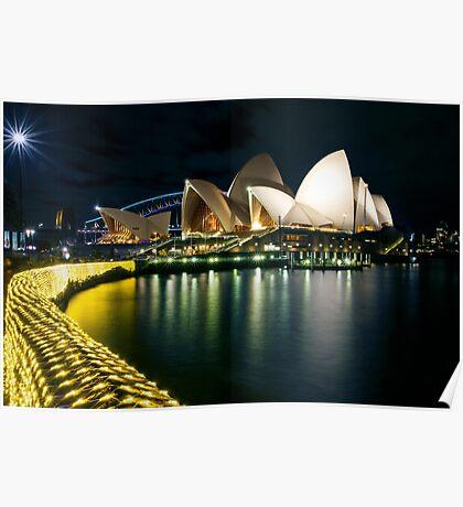 The Other Side - Sydney Opera House - Vivid Sydney Poster
