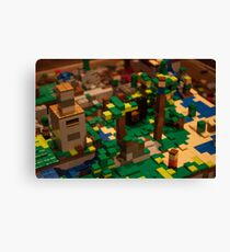 Minecraft Legos Canvas Print