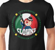 Italian Clownz- 4 Guys With Quarters Unisex T-Shirt