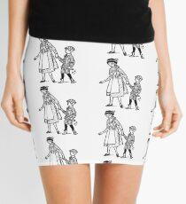 Vintage Schoolboy Mini Skirt