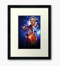 The Capaldi Years Framed Print