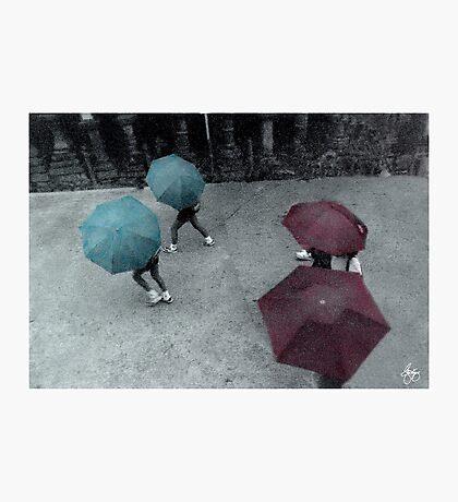 Tokyo Rain Photographic Print