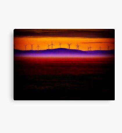 Bungendore Turbines Canvas Print