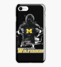 Michigan - Wolverines Super Fan iPhone Case/Skin