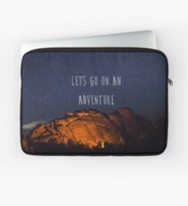 Lets Go On an Adventure Laptop Sleeve