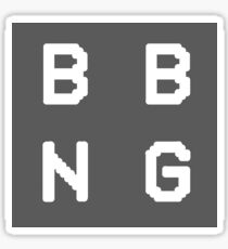 BADBADNOTGOOD Sticker
