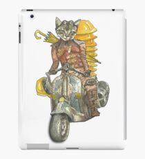 Moto Cat iPad Case/Skin