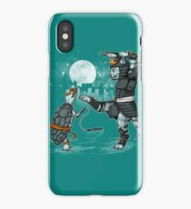 Claws VS Nunchucks iPhone Case/Skin