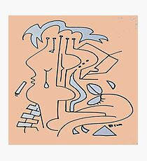 After Picasso - Cinco Photographic Print