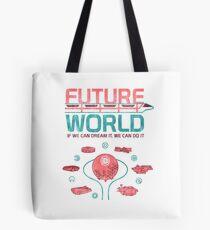 Zukünftige Weltkarte Tote Bag