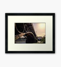 Seville - the Triana bridge Framed Print