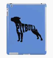 Pitbull black iPad Case/Skin