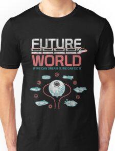 1982 EPCOT Center Future World Map Unisex T-Shirt