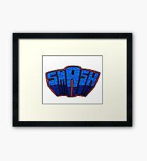 ☢ smAsh ☢ Framed Print