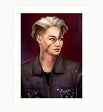 Call him Monster ▲ Jongin Art Print