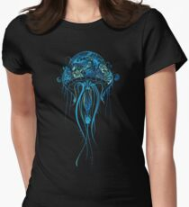 Blue Jellyfish Women's Fitted T-Shirt