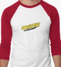 Dogecoin - Bazinga!  Men's Baseball ¾ T-Shirt