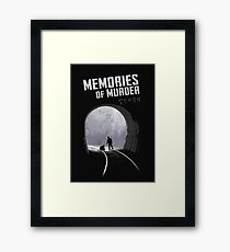Memories of Murder Framed Print
