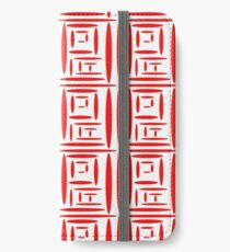 Chinese Print  iPhone Wallet